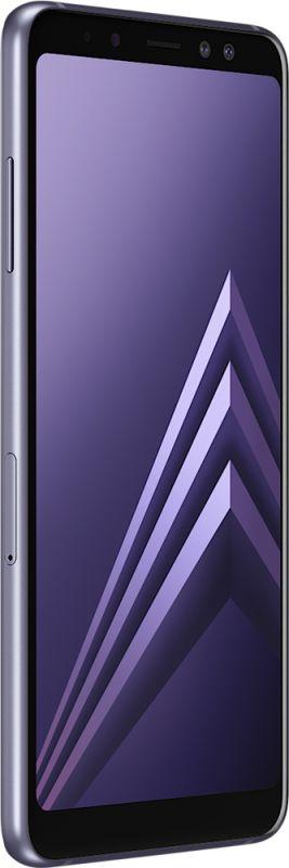 Смартфон Samsung Galaxy A8 2018 4/32GB Orchid Gray фото