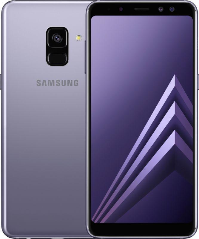 Смартфон Samsung Galaxy A8 2018 4/32GB Orchid Gray