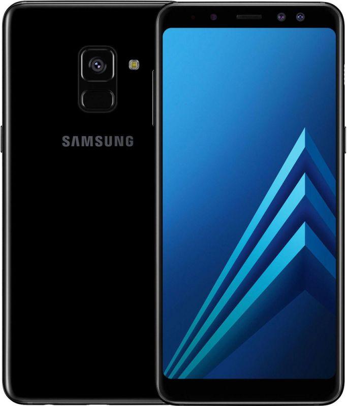 Смартфон Samsung Galaxy A8 Plus 2018 4/32GB Black