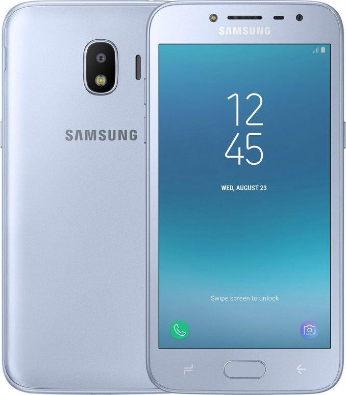 Смартфон Samsung Galaxy J2 2018 Silver