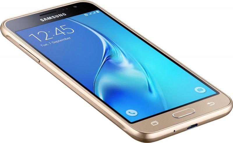 Смартфон Samsung Galaxy J3 2016 Gold в интернет-магазине