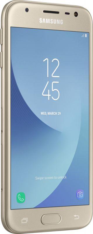 Смартфон Samsung Galaxy J3 2017 Gold в интернет-магазине