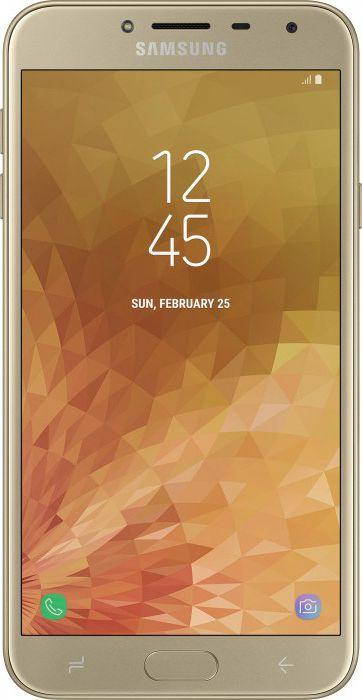 Смартфон Samsung Galaxy J4 2018 Gold купить