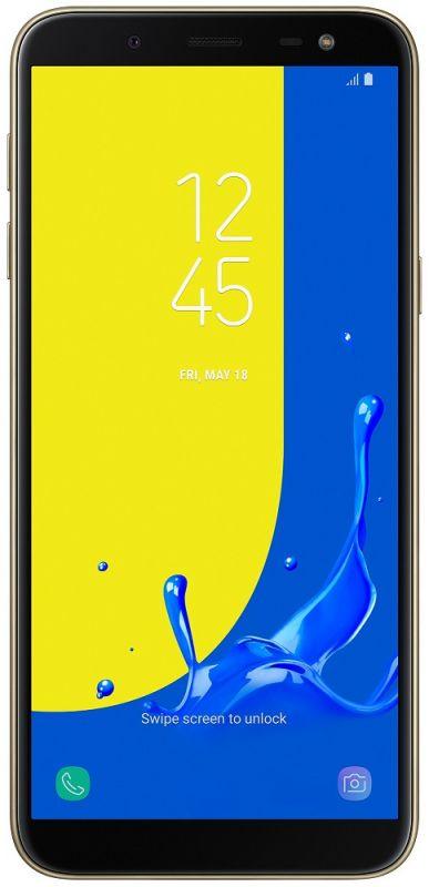 Смартфон Samsung Galaxy J6 2/32GB Gold купить