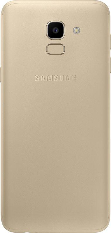 Смартфон Samsung Galaxy J6 2/32GB Gold недорого