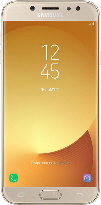 Смартфон Samsung Galaxy J7 2017 Gold купить