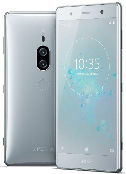Смартфон Sony Xperia XZ2 Premium (H8166) Chrome Silver купить