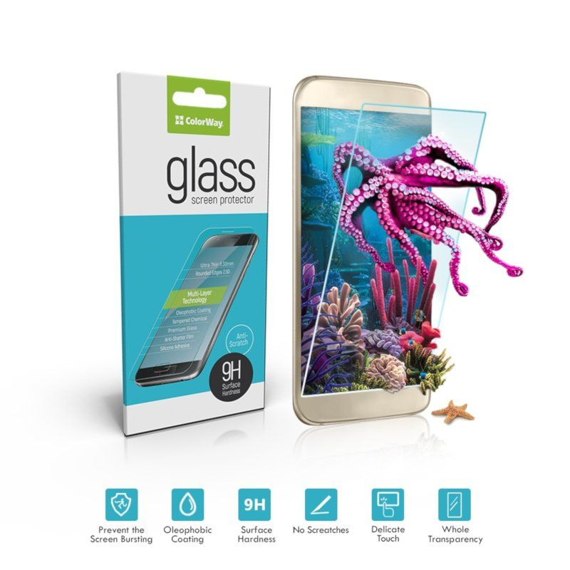 Защитное стекло ColorWay для Apple iPhone 8