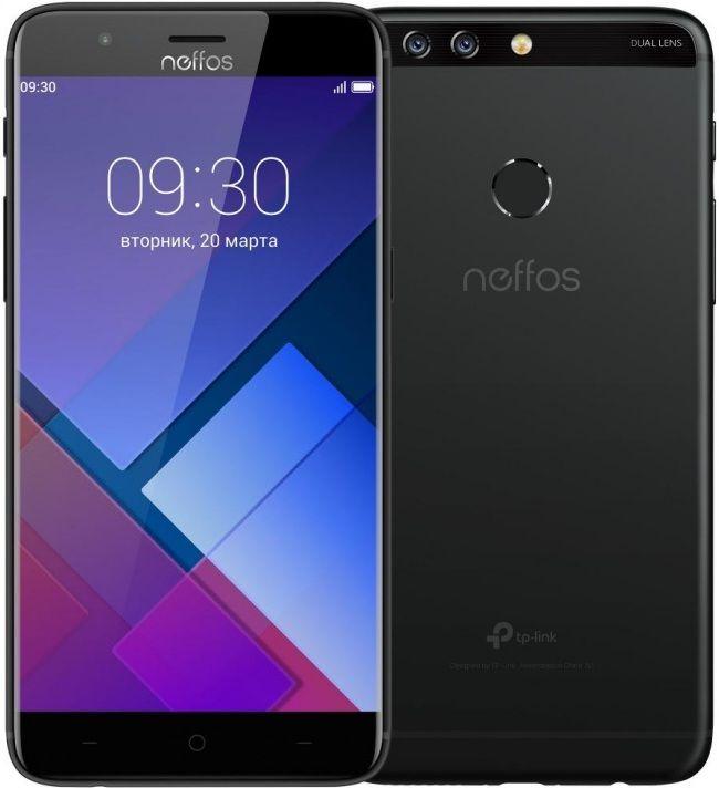 Смартфон TP-Link Neffos N1 Black