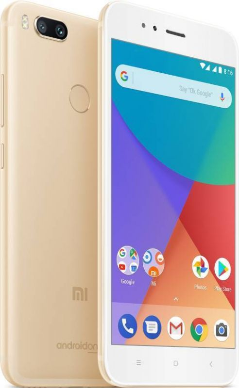 Смартфон Xiaomi Mi A1 32GB Gold фото