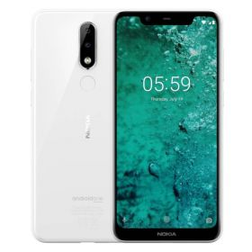 Смартфон Nokia 5.1 Plus 3/32GB  (TA-1105) White
