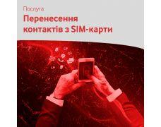 Перенесення контактів з SIM-карти