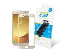 Защитное стекло Global Full Cover для Samsung Galaxy J7 2017 (Gold)