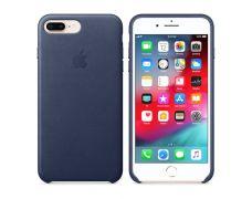 Чехол Apple Leather Case для iPhone 8 Plus/7 Plus (Midnight Blue)