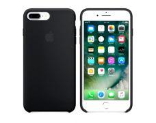 Чехол Apple Silicone Case для iPhone 8 Plus/7 Plus (Black)