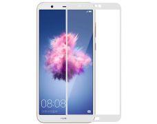 Защитное стекло MakeFuture Full Glue для Huawei P Smart (White)