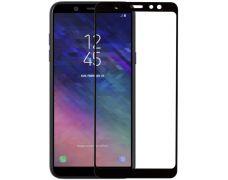Защитное стекло MakeFuture Full Glue для Samsung Galaxy A6 Plus 2018 (Black)