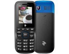 Мобильный телефон TWOE E180 Dual Sim Black-Blue