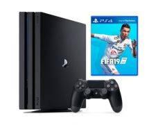 Ігрова приставка PlayStation 4 Pro 1TB + игра FIFA 19