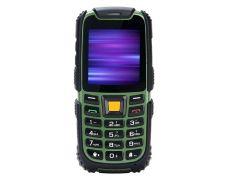 Мобільний телефон Nomi i242 X-treme Black-Green