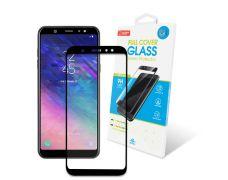Защитное стекло Global Full Cover для Samsung Galaxy A6 Plus (A605) Black