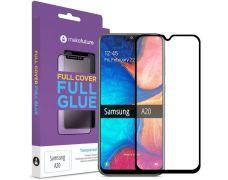 Защитное стекло MakeFuture Full Cover Full Glue для Samsung Galaxy A20 (Black)