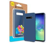 Чехол MakeFuture Skin для Samsung Galaxy S10 Plus (MCSK-SS10PBL) Blue