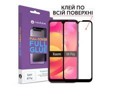 Защитное стекло MakeFuture Full Cover Full Glue для Xiaomi Mi Play (MGF-XMP)