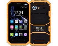 Смартфон TWOE E450R Dual Sim Yellow