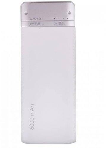 Портативный аккумулятор 6000mAh Global DP662 White недорого