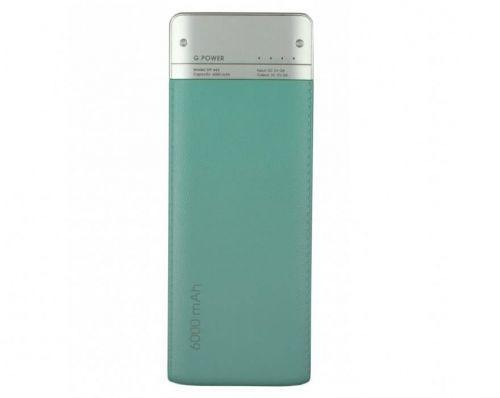 Портативный аккумулятор 6000mAh Global DP662 (1283126470479) Turquoise купить