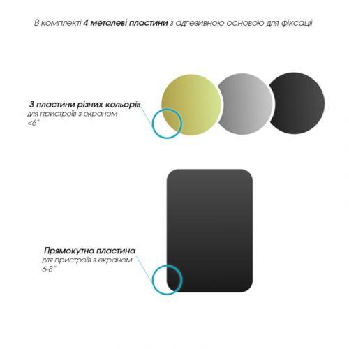 Автодержатель GlobalHold M06GM универсальный (1283126473647) Black купить
