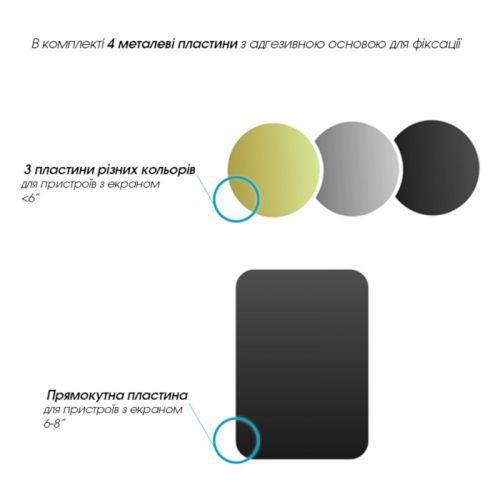 Автотримач GlobalHold M06SM універсальний (1283126473616) Black купить