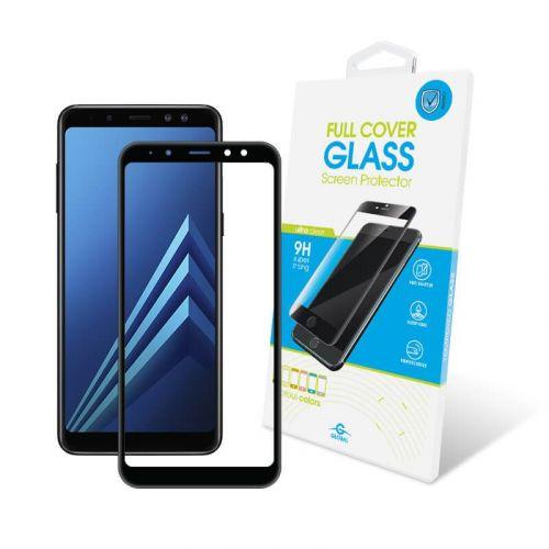 Защитное стекло Global Full Cover для Samsung Galaxy A8 Plus 2018 (Black)