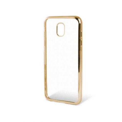 Чехол GlobalCase TPU Electro для Samsung Galaxy J3 2017 (Gold)