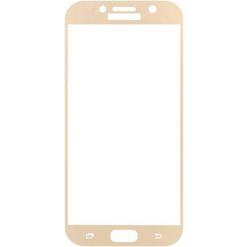 Захисне скло MakeFuture Full Cover для Samsung Galaxy A5 2017 (Gold)