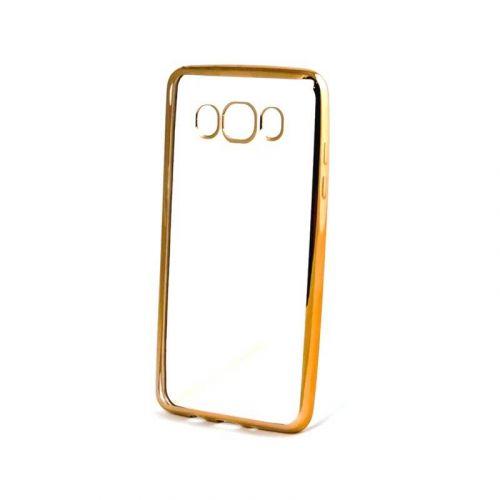 Чехол GlobalCase TPU Electro для Samsung Galaxy J7 2016 (Gold)