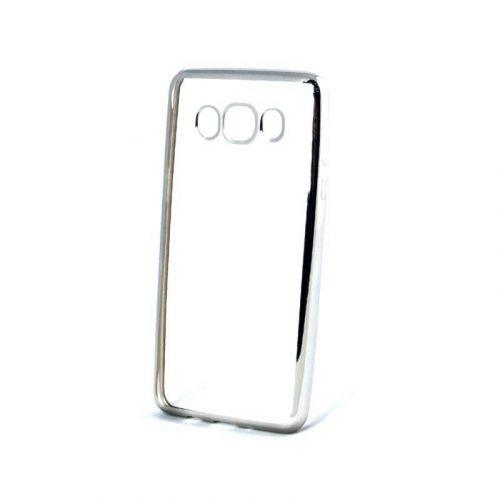 Чехол GlobalCase TPU Electro для Samsung Galaxy J7 2016 (Silver)