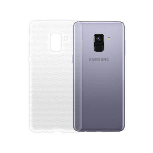 Чехол GlobalCase TPU Extra Slim для Samsung Galaxy A8 2018 (Clear)