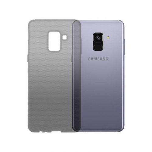 Чехол GlobalCase TPU Extra Slim для Samsung Galaxy A8 2018 (Dark)