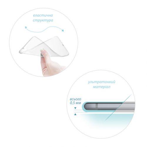 Чехол GlobalCase TPU для ZTE Blade L5/L5 Plus (Clear) купить