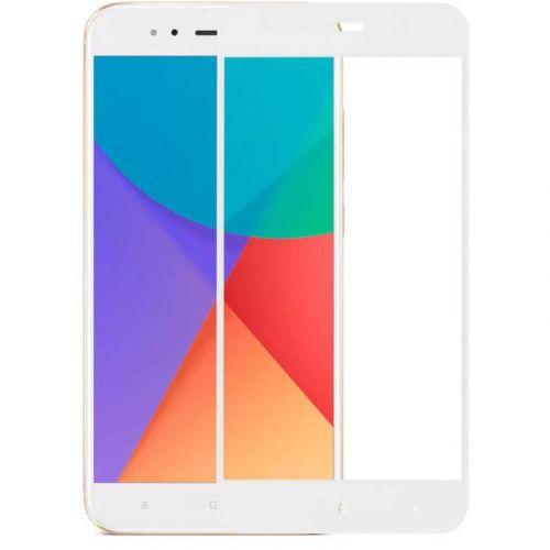 Защитное стекло MakeFuture Full Cover для Xiaomi Mi A1 (White)