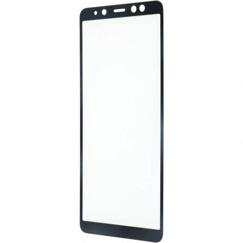 Защитное стекло MakeFuture 3D для Samsung Galaxy A8 Plus 2018 (Black)