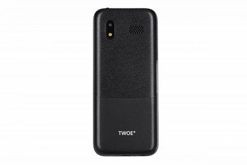 Мобильный телефон TWOE E240 Dual Sim Black купить