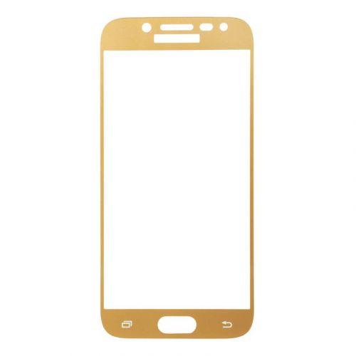 Защитное стекло BeCover для Samsung Galaxy J5 2017 (Gold)