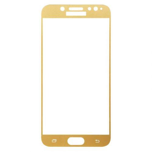 Защитное стекло BeCover для Samsung Galaxy J7 2017 (Gold)