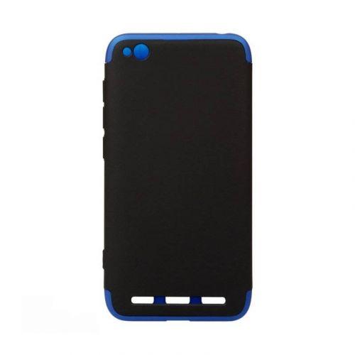 Чехол BeCover 3 в 1 Series для Xiaomi Redmi 5A (Black-Blue)