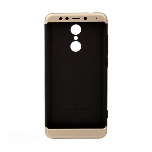 Чехол BeCover 3 в 1 Series для Xiaomi Redmi 5 (Black-Gold)