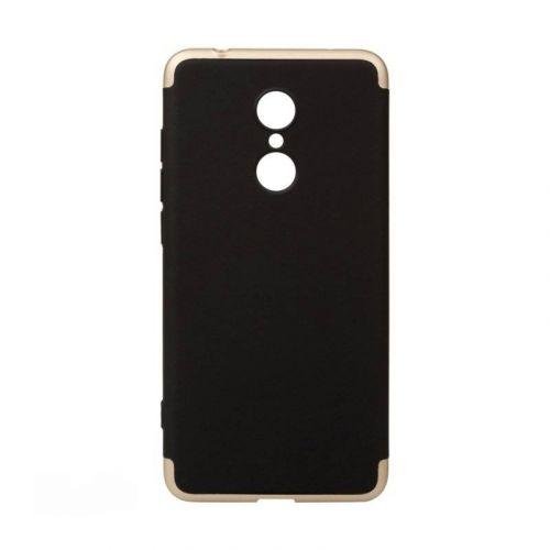 Чехол BeCover 3 в 1 Series для Xiaomi Redmi 5 (Black-Gold) купить