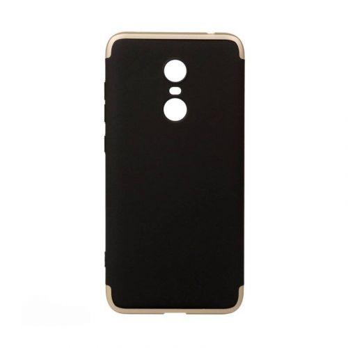 Чехол BeCover 3 в 1 Series для Xiaomi Redmi 5 Plus (Black-Gold)
